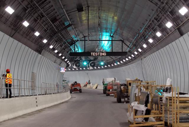 Port of Miami Tunnel Lighting